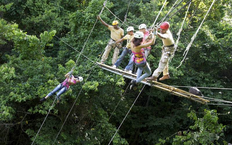 Zipline Canopy tour (found on visitjamaica.com