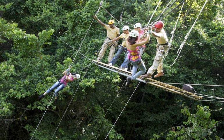 Zipline Canopy tour (found on visitjamaica.com
