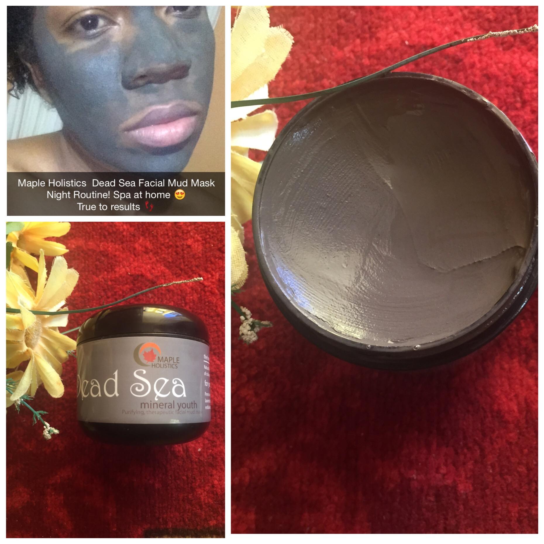 Maple Holistics Dead Sea Facial Mud Mask